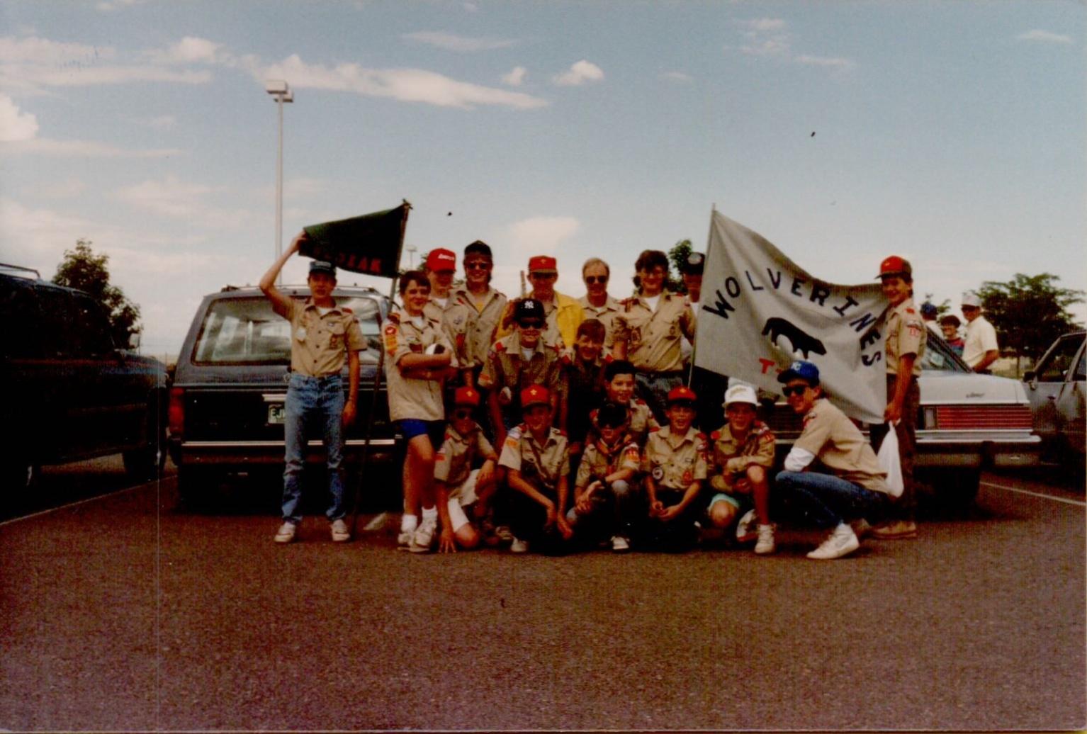 boy scout troop 16  u2013 parker  colorado  u00bb 1989 summer camp