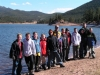 all boys by lake