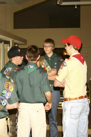 troop16leaderstalkingwithkristian